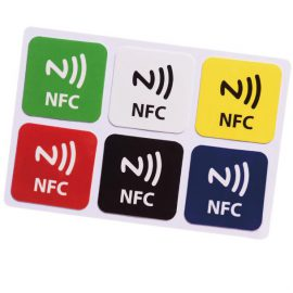 NTAG213 30MM vierkant NFC tags
