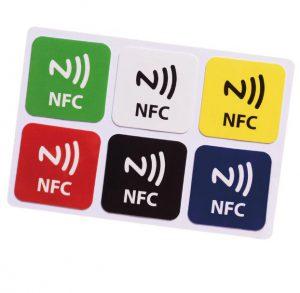 NTAG213 30MM vierkant NFC tags